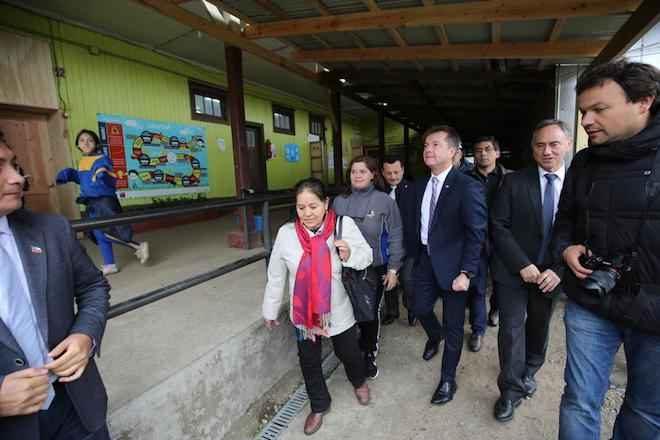Subsecretario Salaberry realizó visitas inspectivas y entrega de recursos en Lanco