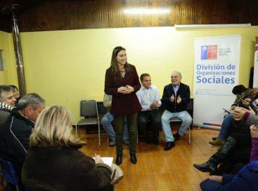 Autoridades dialogaron con dirigentes sociales sobre la Reforma de Pensiones