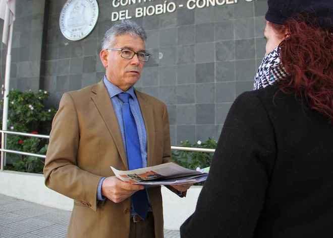 Concejal Cruz pide explicaciones a Contraloría por acusación de tráfico de influencias denunciada por alcaldesa de Hualpén