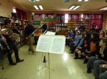 Seremi de las Culturas lanzó programa de educación artística que llegará a 38 establecimientos de Los Ríos
