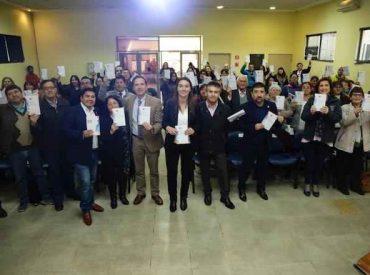 Autoridades entregaron Guía de Fondos Concursables en la Provincia de Arauco