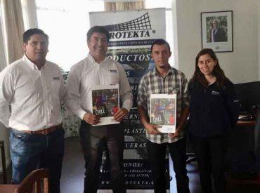 Mesa de Jóvenes Rurales de Biobío firma convenio nacional con Protekta para adquirir insumos agrícolas a mejores precios