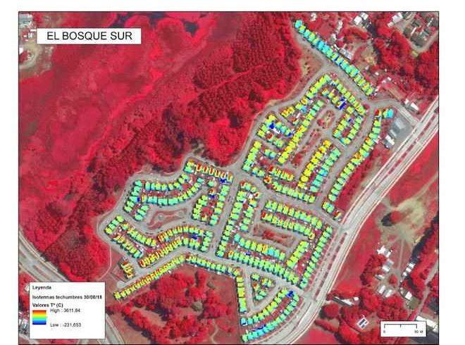 Implementarán Mapa Térmico en la Región de Los Ríos