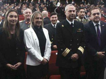 Comandancia en jefe de la Segunda Zona Naval inauguró Mes del Mar con actividad académica en la Universidad Andrés Bello