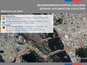 Más de 2 mil taxibuses del transporte público mayor del Gran Concepción dispondrán sus servicios por rally mundial