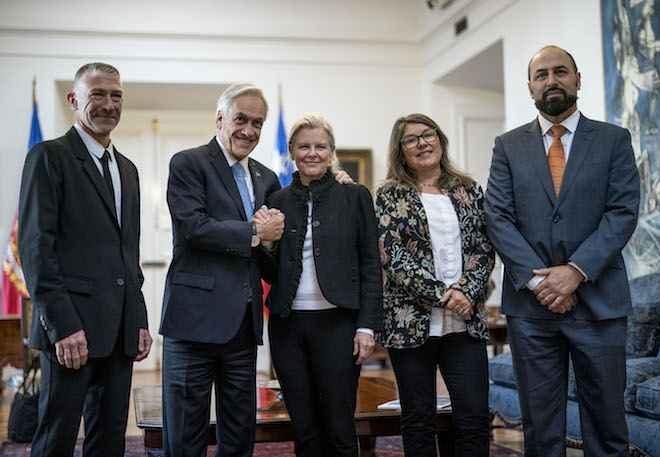 Presidente Piñera acuerda con Tompkins Conservation y Pew inédito plan para promover la protección de los parques de la Patagonia