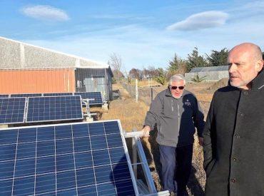 Primer sistema fotovoltaico superó expectativas de generación eléctrica para el sector agrícola de Magallanes