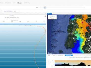 IFOP moderniza página web CHONOS de monitoreo oceanográfico