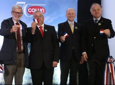 """MinistroWalker destaca asociatividad del sector lechero en inauguración de nueva planta de Colun: """"No veo otra forma de salir adelante y mejorar la rentabilidad de la tierra que a través del cooperativismo"""""""
