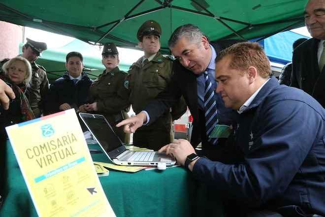Gobierno pone en marcha Comisaría Virtual que liberará a carabineros en funciones preventivas