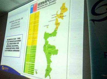 En Biobío se constituyó el Comité intersectorial para la implementación de la ley de Caletas