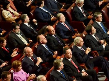 Parlamentarios RN analizan la Cuenta Pública 2019