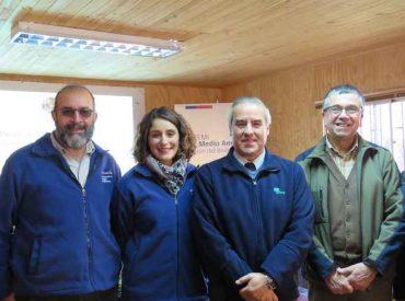 Equipos de monitoreo aportarán información sobre el hábitat natural del huemul en Parque Nacional Laguna del Laja