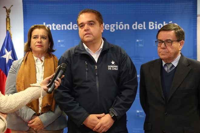 Intendente comienza intensa agenda por metro para Concepción