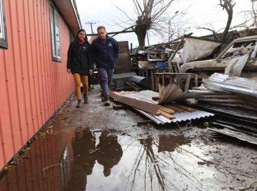 206 viviendas presentan daños a causa de tornados, según ficha aplicada por MINVU
