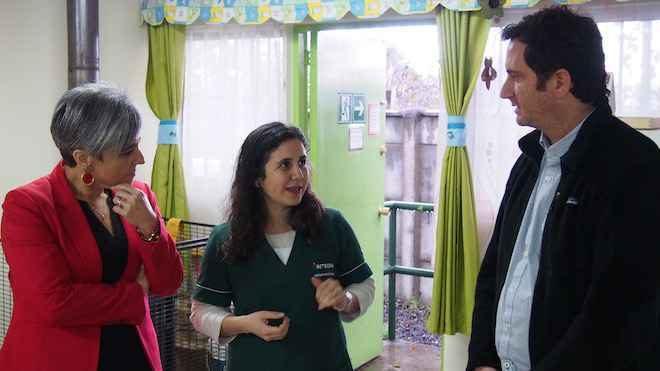 Director ejecutivo de Fundación Integra visita la Región de La Araucanía