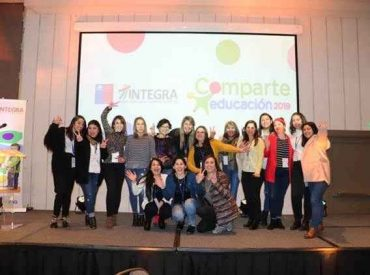 Experiencia Patrimonial presentó Lota en Congreso Nacional de Fundación Integra