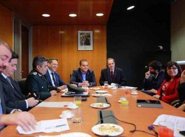 Ministro de Justicia encabezó mesa público-privada de reinserción social en la Región del Biobío