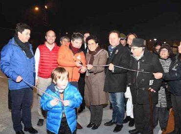 Municipalidad de Valdivia inaugura multicancha en sector Gil de Castro