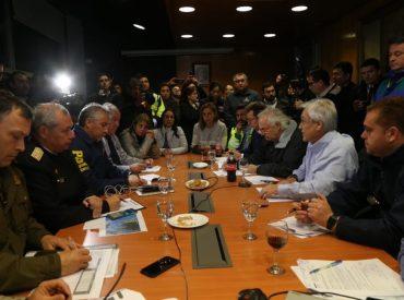 """Presidente Piñera: """"Puedo asegurar que el orden público va a estar garantizado y que la ayuda a las víctimas va a llegar en forma rápida y oportuna"""""""