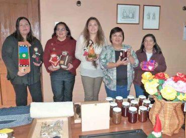 Con muestra de productos SernamEG invita a inscribirse en el Programa Mujer Emprende