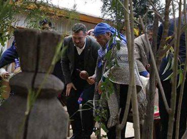 Ministro Sichel celebra el We Tripantu con comunidad mapuche Kallfulikan
