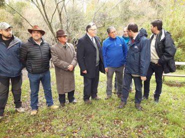 Convenio permitirá incrementar la superficie de riego y la producción agropecuaria en predios mapuches de La Araucanía