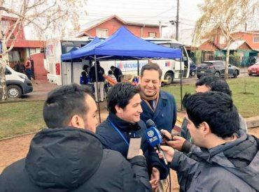 Seremi de Justicia junto a Registro civil y Servicio de Salud realizan operativo para atender a comunidad afectada por tornado