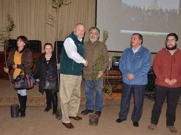 Municipalidad de Temuco entrega cinco mil árboles nativos a vecinos de la comuna