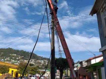 Más de 29 mil kilos de cables en desuso se han retirado en la región