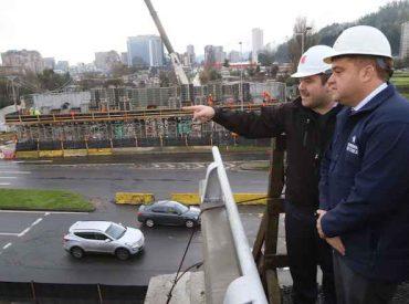 Costanera permanecerá cerrada por instalación de vigas de Puente Bicentenario
