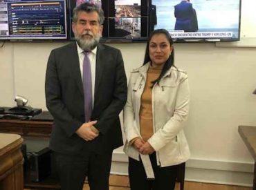 Diputada Muñoz (RN) se reúne con subsecretario Ubilla por crisis migratoria