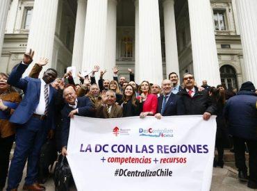 Titular de la Cámara y Bancada DC entregan Carta al presidente Sebastián Piñera pidiendo mantener fecha de elección de gobernadores y ley de Rentas Regionales