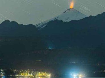 Informe sobrevuelo volcán Villarrica