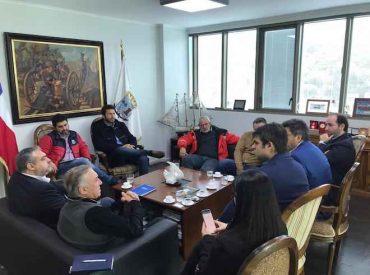 Representantes de Zona Franca de Zapala visitan Talcahuano para abordar trabajo conjunto