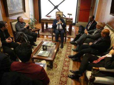 Intendente sostiene reunión con directiva de la nueva Zona Franca de Zapala – Argentina