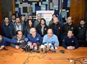 Ministro de Obras Públicas Alfredo Moreno se trasladó a Osorno para encarar crisis del agua