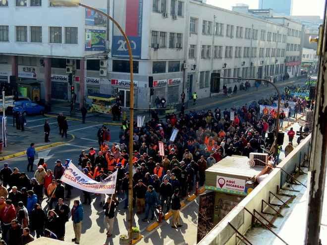 Concepción: masiva marcha pesquera pide prórroga de Ley Jibia