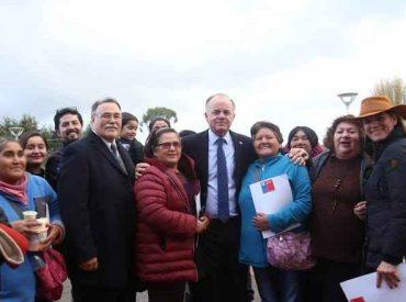 Ministro Walker estará en cuatro comunas para realizar anuncios en el marco del Plan Impulso Araucanía