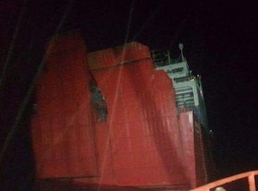 """Motonave """"Coyhaique"""" sufrió accidente en las cercanías de Puerto Aguirre: tripulantes y pasajeros fueron rescatados"""