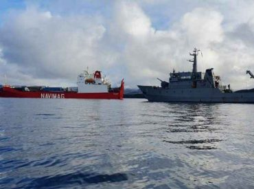 Gobierno monitorea rescate de animales de motonave Coyhaique