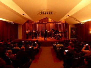 "Orquesta de Cámara ""Arte Joven"" de Balmaceda Bío Bío realiza exitosa presentación en Concepción"