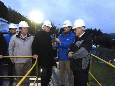 """Presidente Piñera en Osorno: """"El agua está íntegramente repuesta"""""""