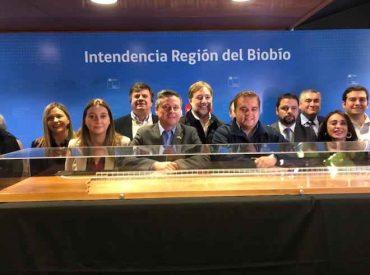 EFE presentó el diseño arquitectónico del nuevo puente ferroviario Biobío
