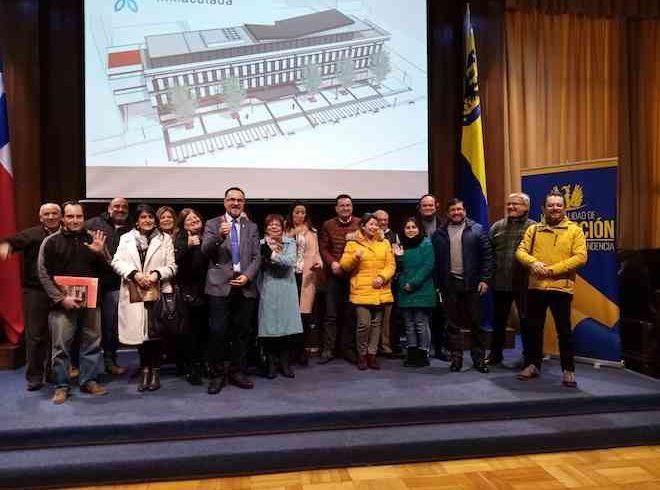 Socios de la Cámara de Comercio de Concepción conocieron proyectos que prometen modernizar capital regional