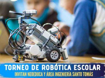 Santo Tomás invita a escolares a participar en Torneo Nacional de Robótica