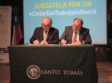 IP Santo Tomás y Ministerio del Trabajo y Previsión Social del Biobío firman convenio en pro de la erradicación del trabajo infantil