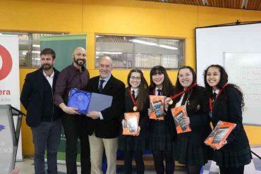 Equipo del Colegio María Auxiliadora ganó la final regional del Torneo Delibera