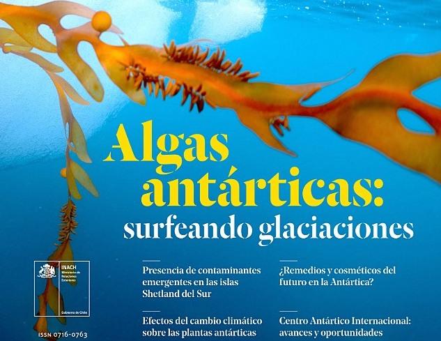 Aplicaciones biotecnológicas y contaminantes emergentes destacan en revista de ciencia antártica