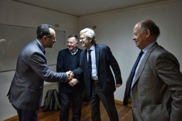 Ministro Fontaine se reúne con gremios de Biobío por Agenda de Reimpulso Económico